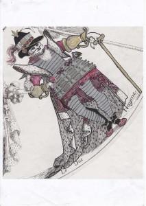 Le Duc Mayne colorisé