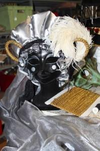 Coiffe et masque d'Hipalque.